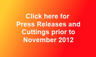 Press releases and press cuttings November 2012 and before