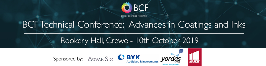 BCF Technical Conference: Advances in Coatings and Inks